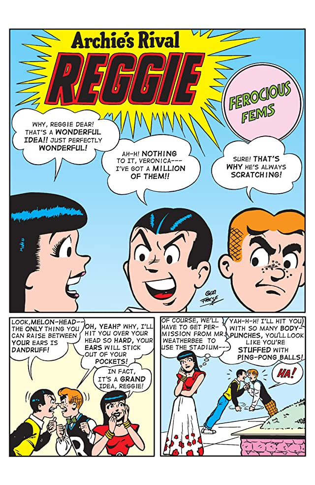 click for super-sized previews of Archie's Rival Reggie #1