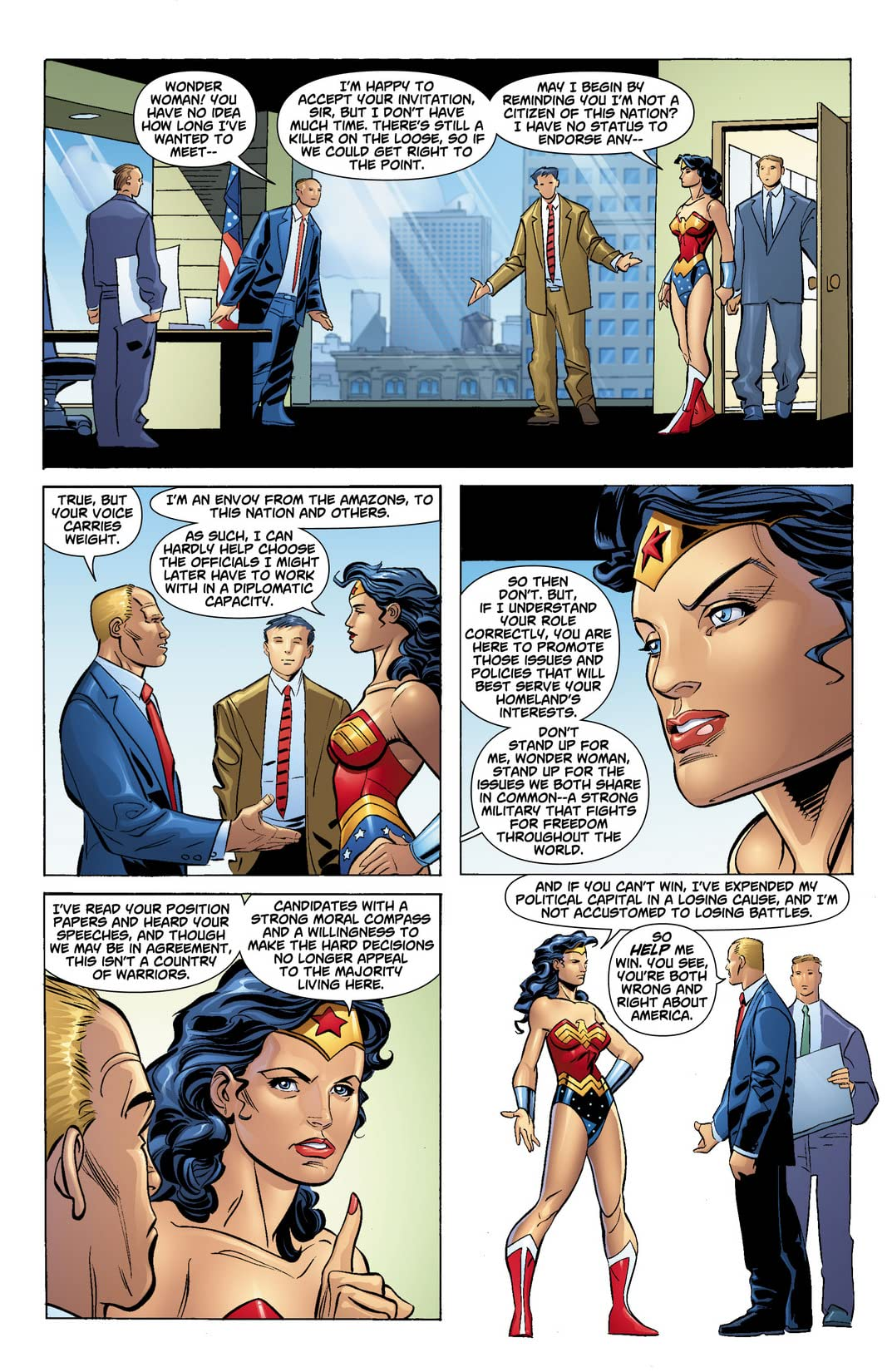 DC Universe: Decisions #3 (of 4)