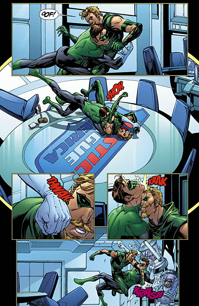 click for super-sized previews of DC Universe: Decisions #2 (of 4)