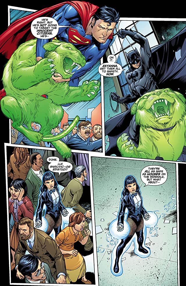 click for super-sized previews of DC Universe: Decisions #4
