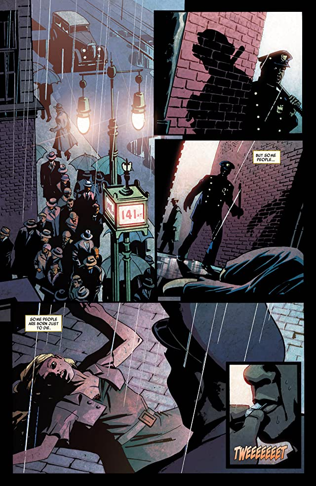 click for super-sized previews of Luke Cage Noir #1