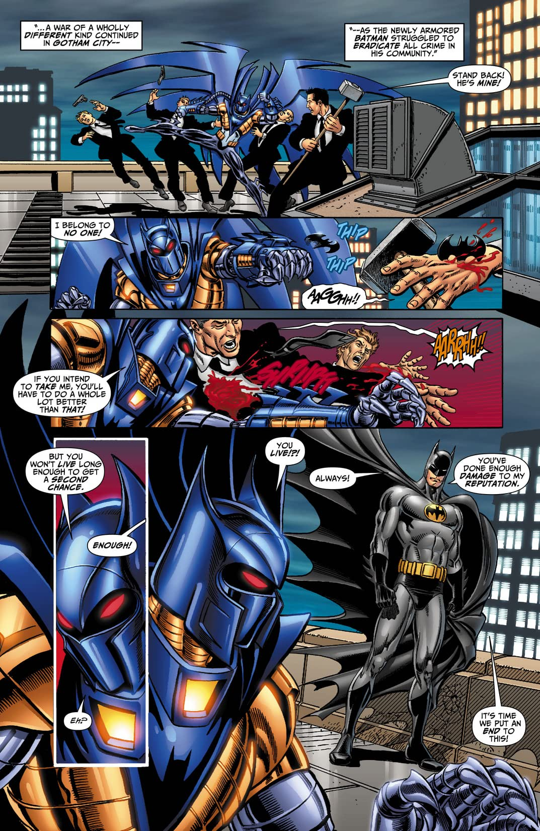 DC Universe: Legacies #8 (of 10)