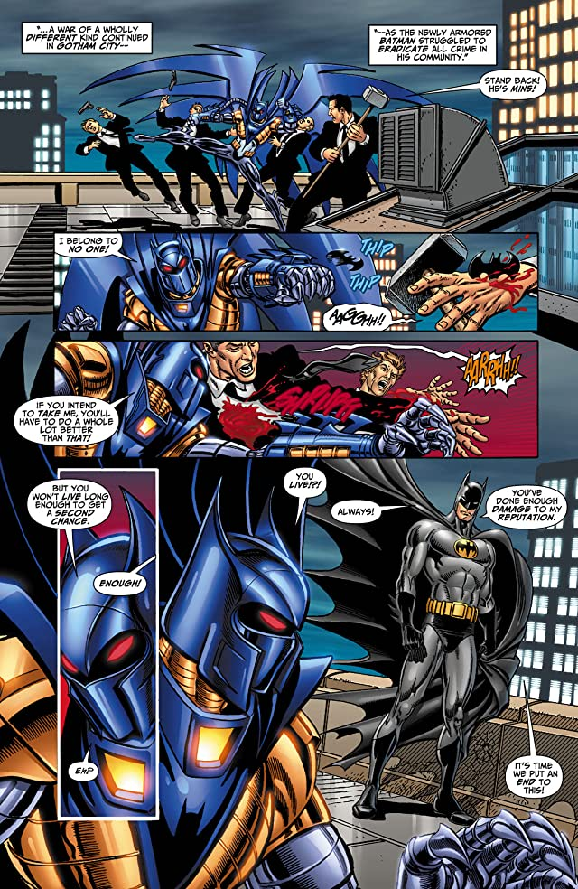 click for super-sized previews of DC Universe: Legacies #8