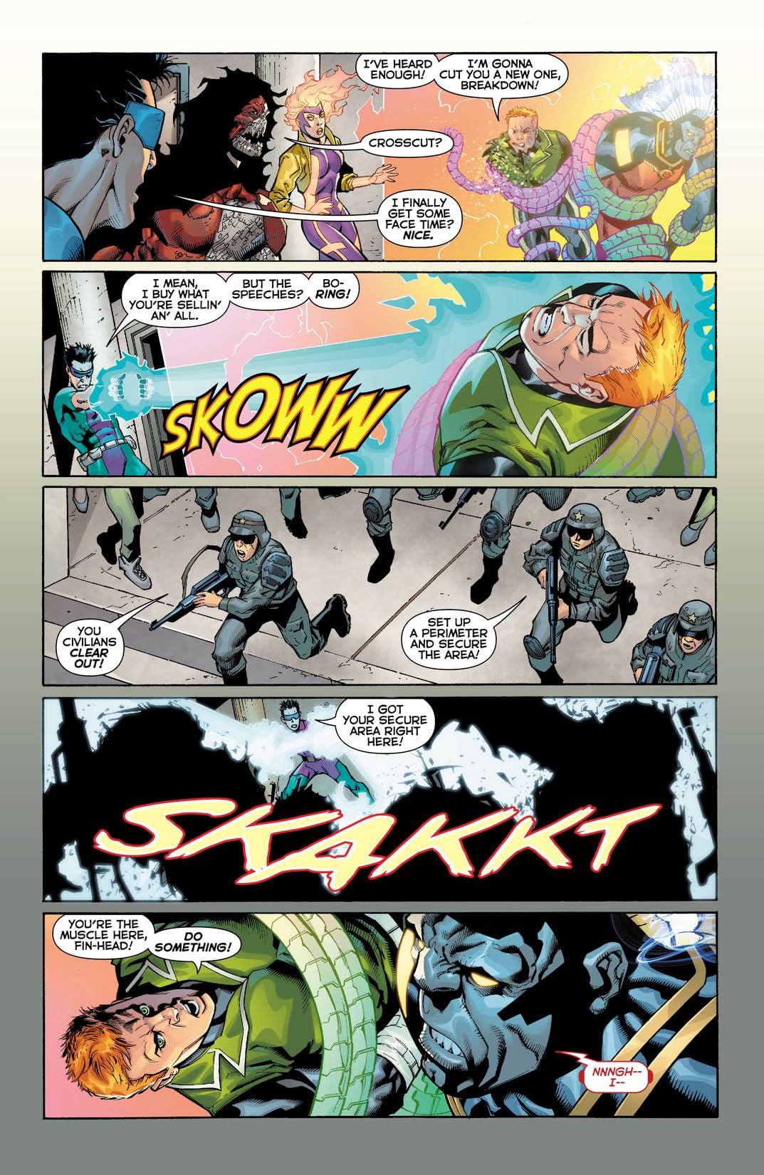 Justice League International (2011-2012) #11