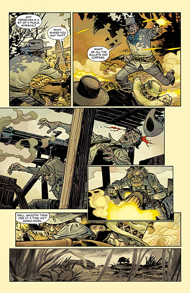 click for super-sized previews of Jonah Hex (2006-2011) #35