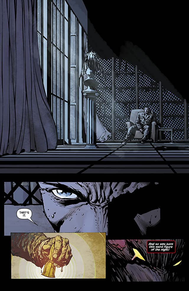 click for super-sized previews of Batman: The Return #1