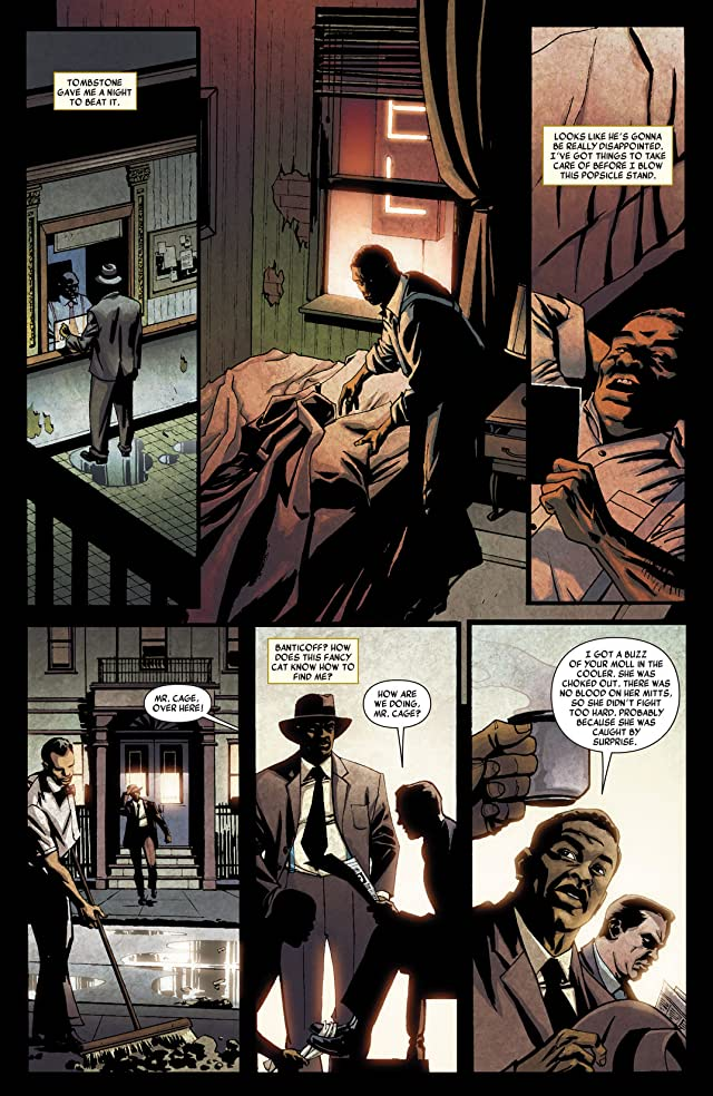 click for super-sized previews of Luke Cage Noir #2