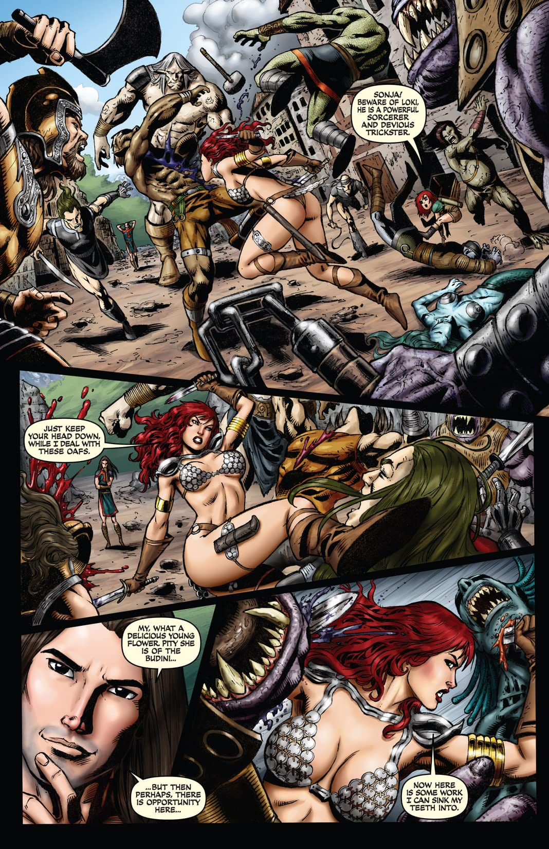 Red Sonja: Wrath of the Gods #2 (of 5)