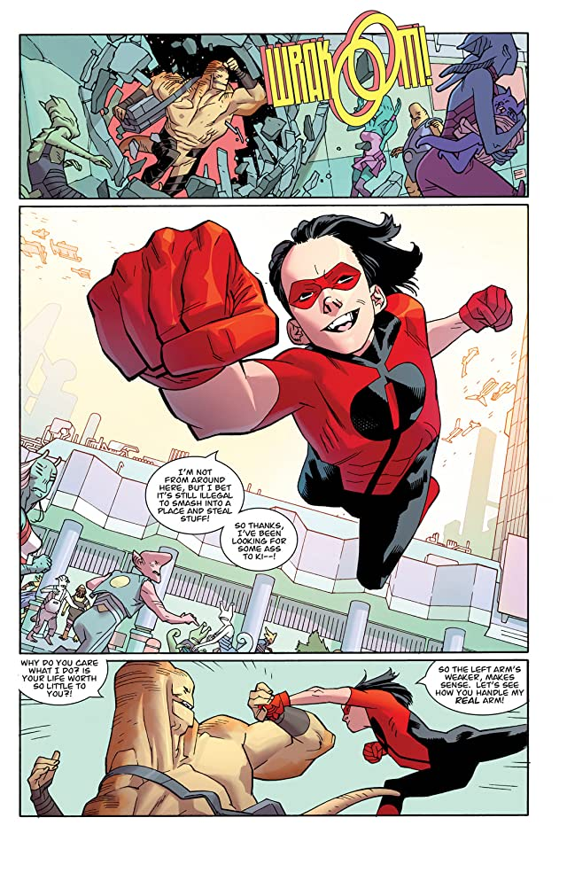 click for super-sized previews of Invincible Vol. 16: Family Ties