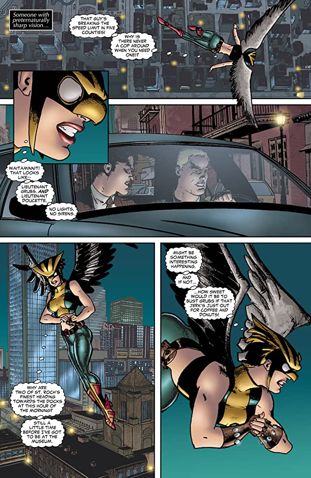 click for super-sized previews of Hawkgirl (2006-2007) #53