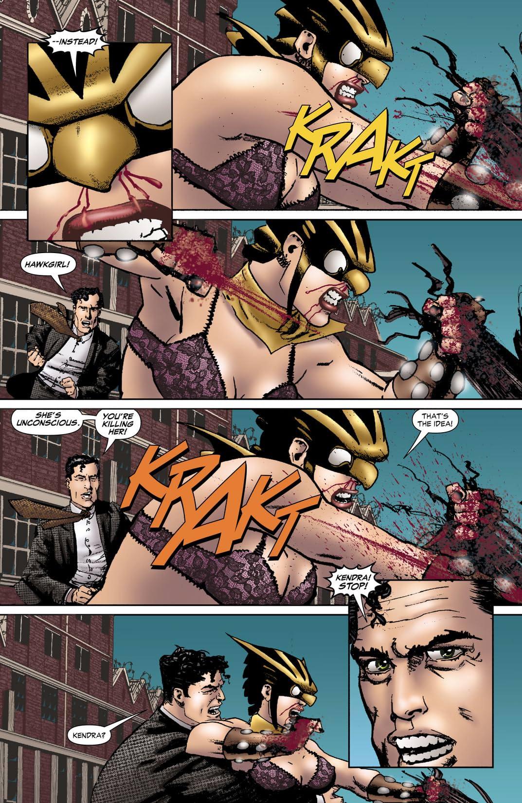 Hawkgirl (2006-2007) #54