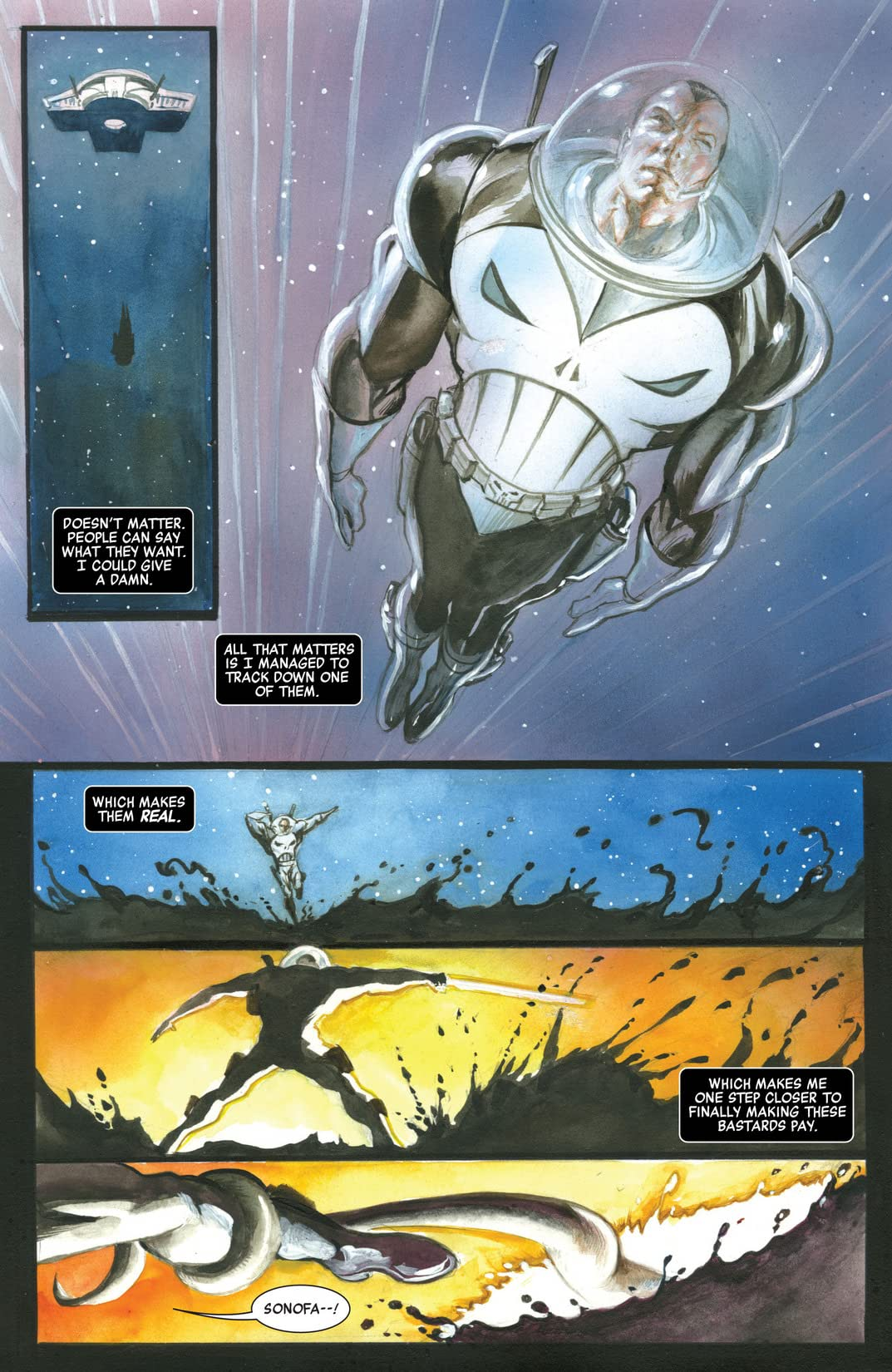 Space: Punisher #1 (of 4)