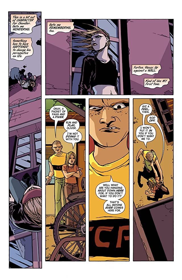 click for super-sized previews of Hellblazer #206