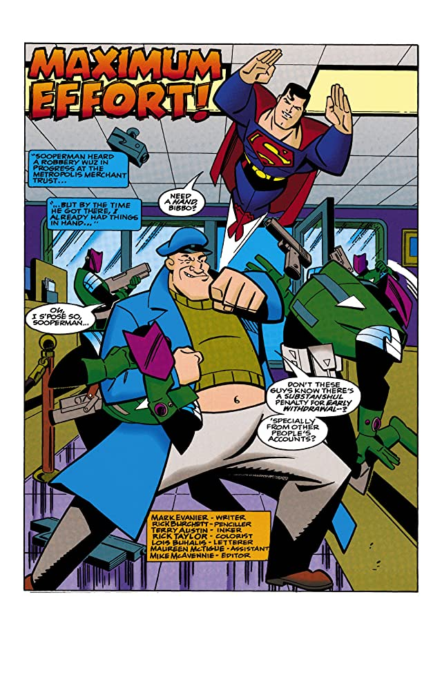 click for super-sized previews of Superman Adventures (1996-2002) #15