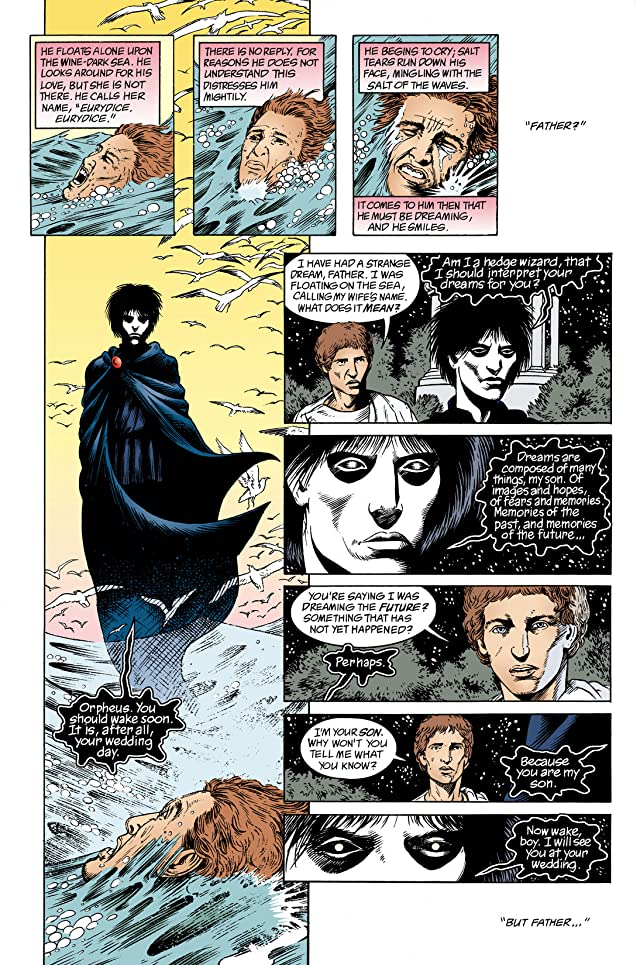 click for super-sized previews of The Sandman Special #1