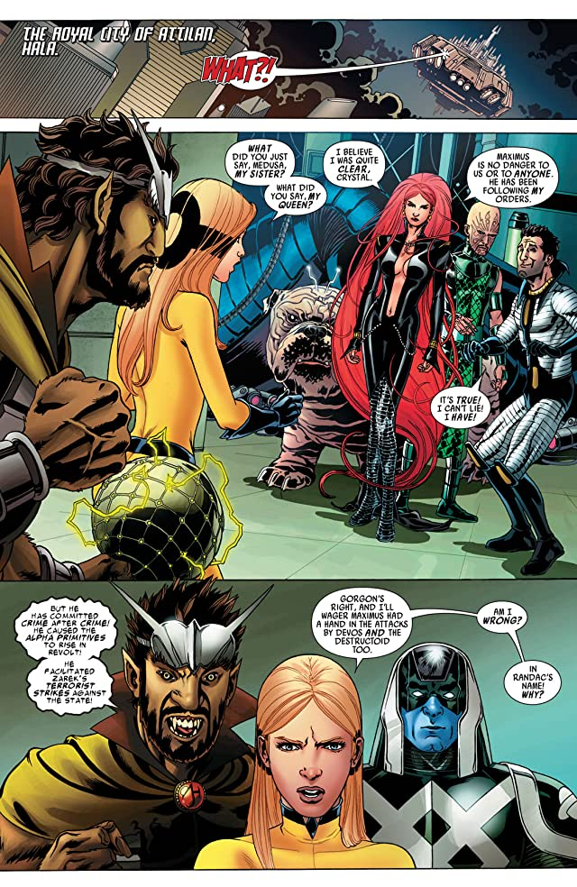 Realm of Kings: Inhumans #5 (of 5)