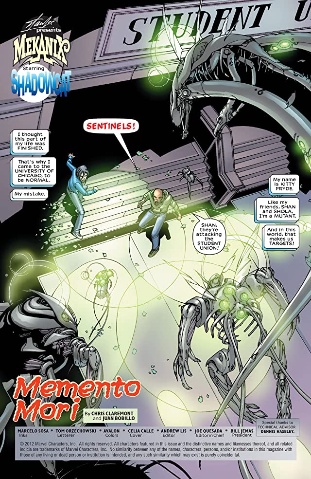 click for super-sized previews of Mekanix #6