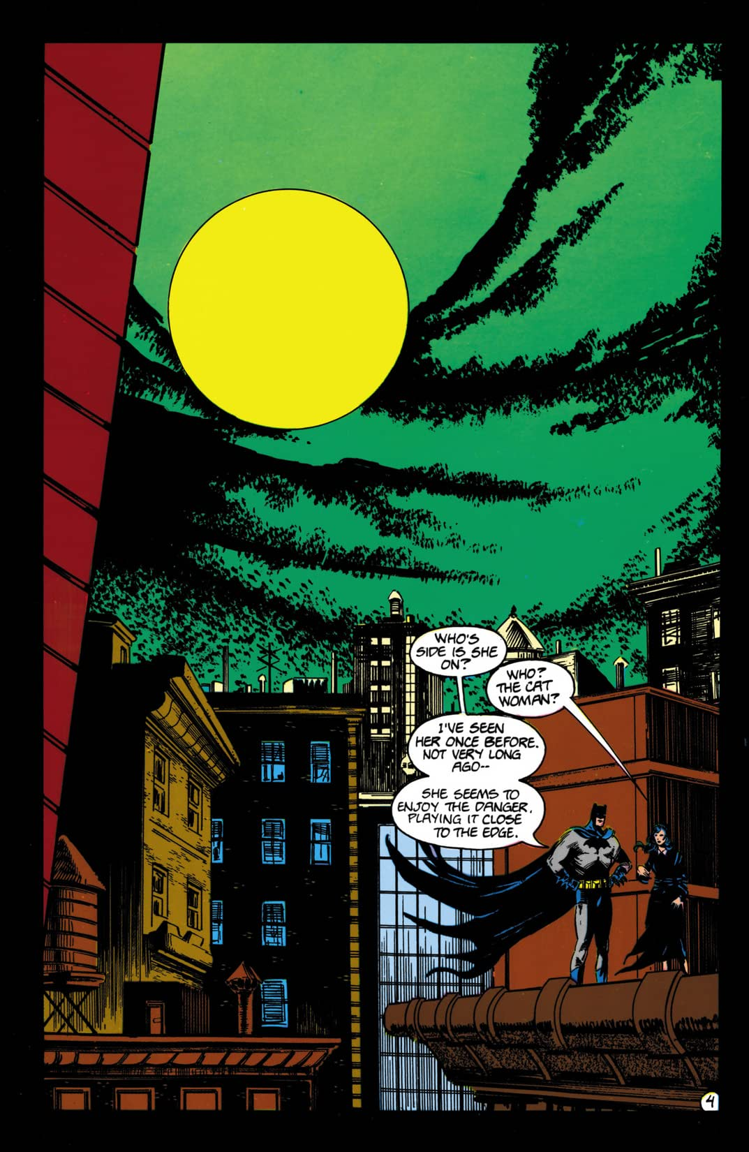 Catwoman (1989) #4 (of 4)