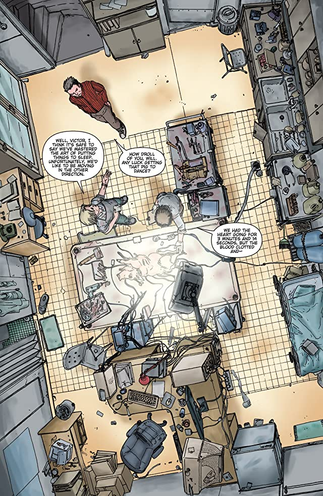 click for super-sized previews of Wake the Dead #1