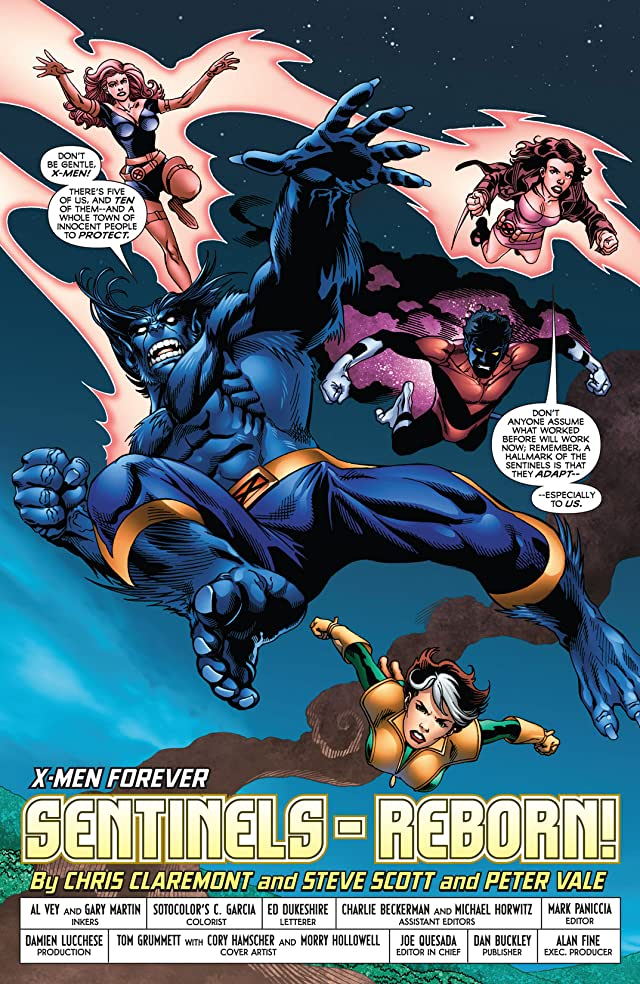click for super-sized previews of X-Men Forever #9