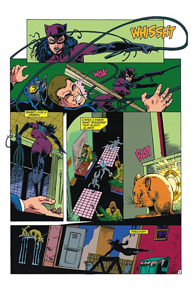 click for super-sized previews of Catwoman (1993-2001) #1