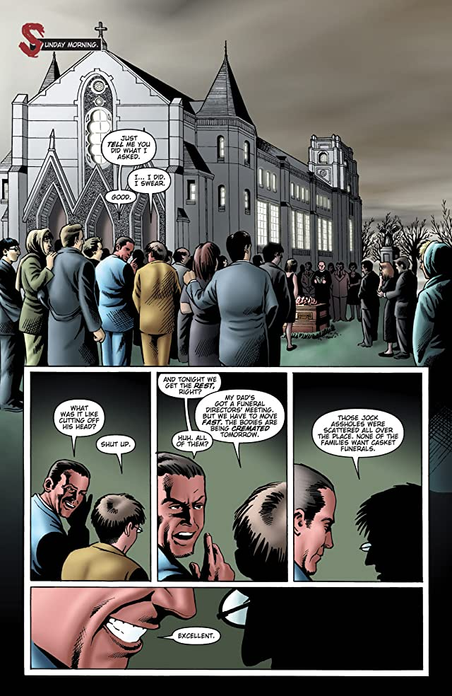 click for super-sized previews of Wake the Dead #2