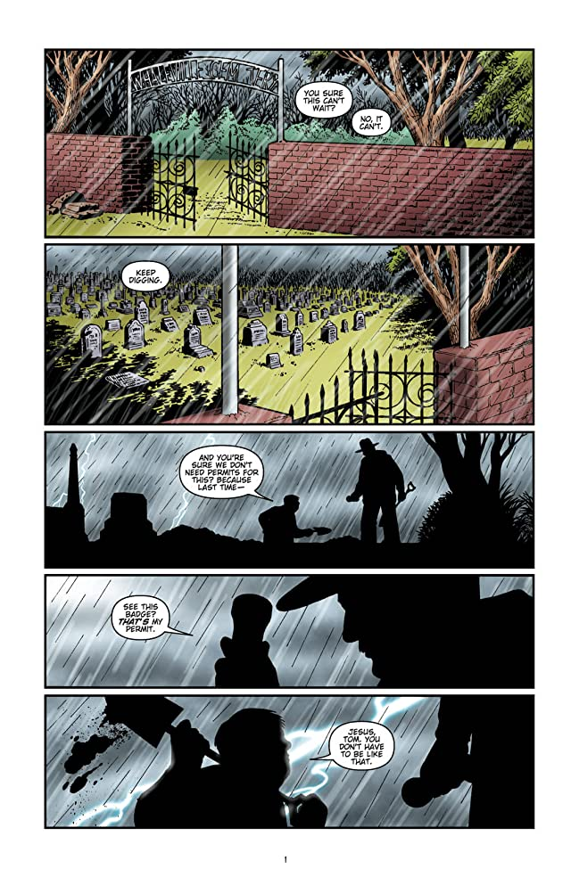 click for super-sized previews of Wake the Dead #4