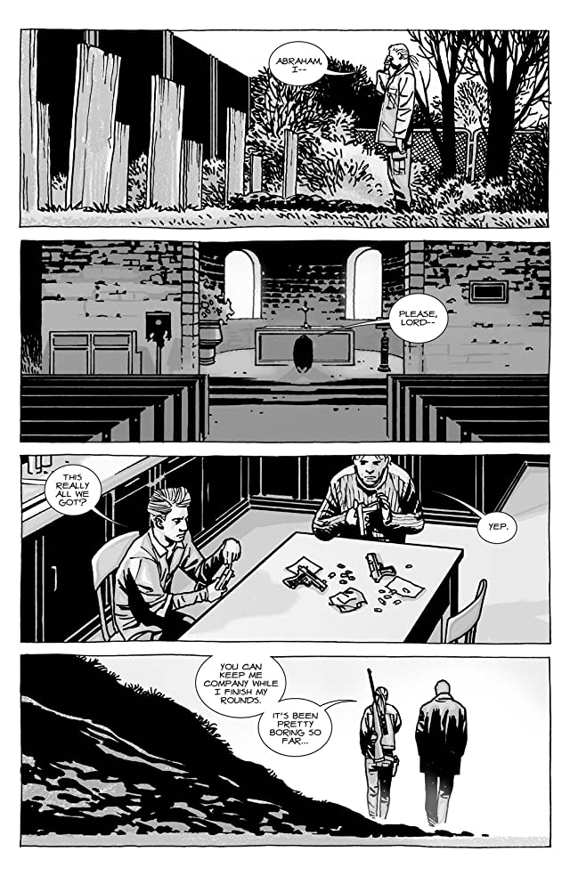 click for super-sized previews of The Walking Dead #100