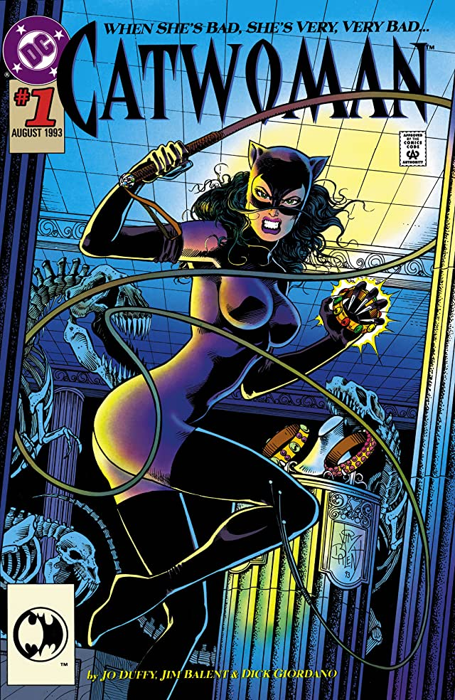 click for super-sized previews of Catwoman 101