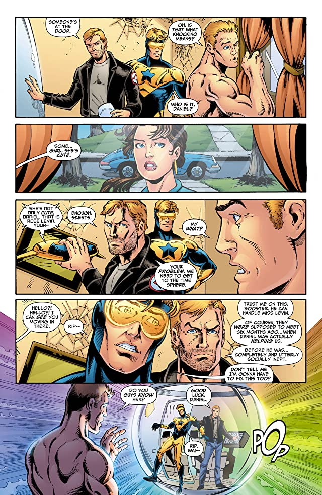 click for super-sized previews of Booster Gold (2007-2011) #3