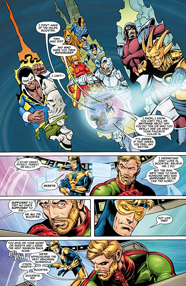 click for super-sized previews of Booster Gold (2007-2011) #2
