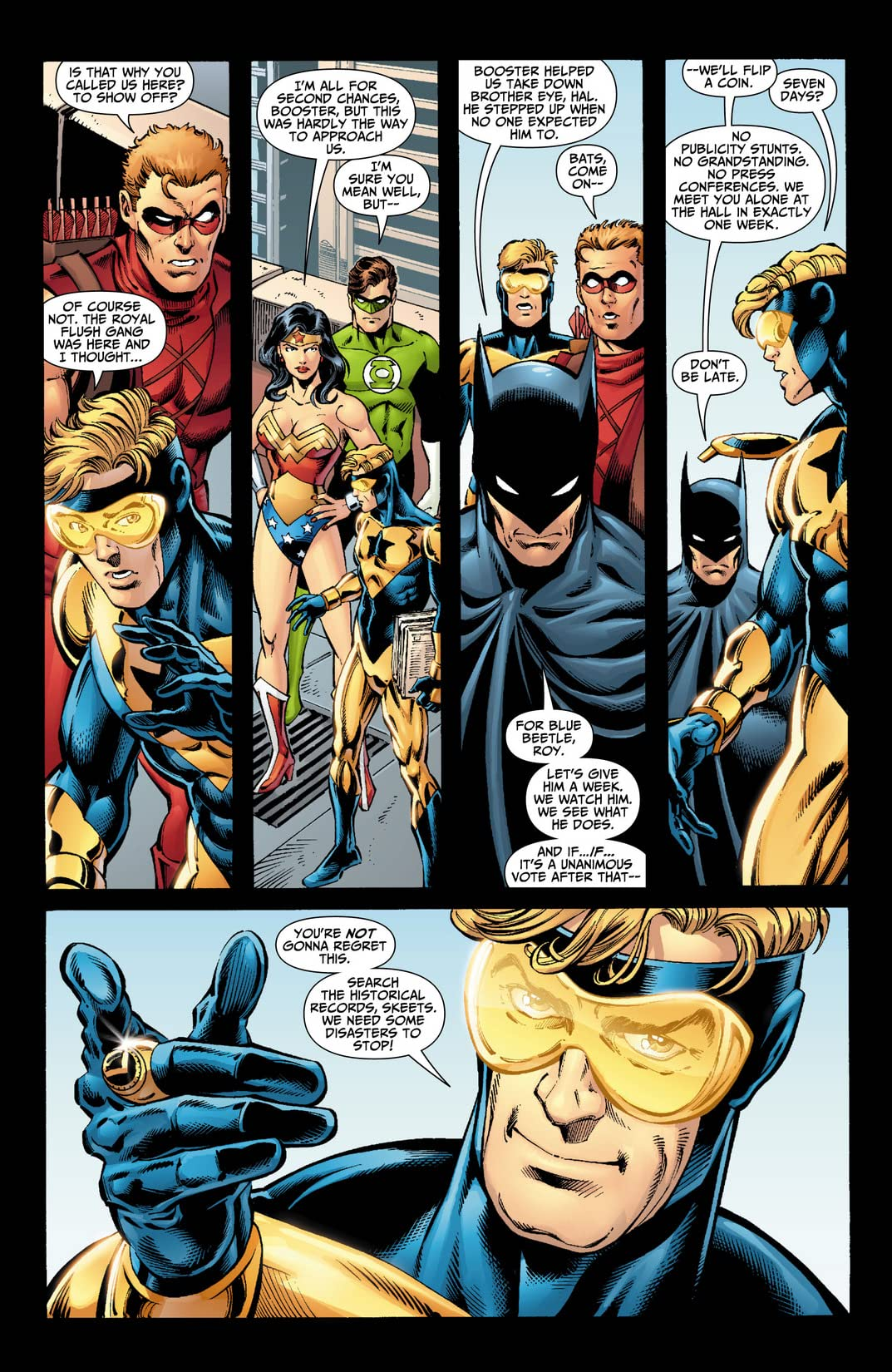 Booster Gold (2007-2011) #1