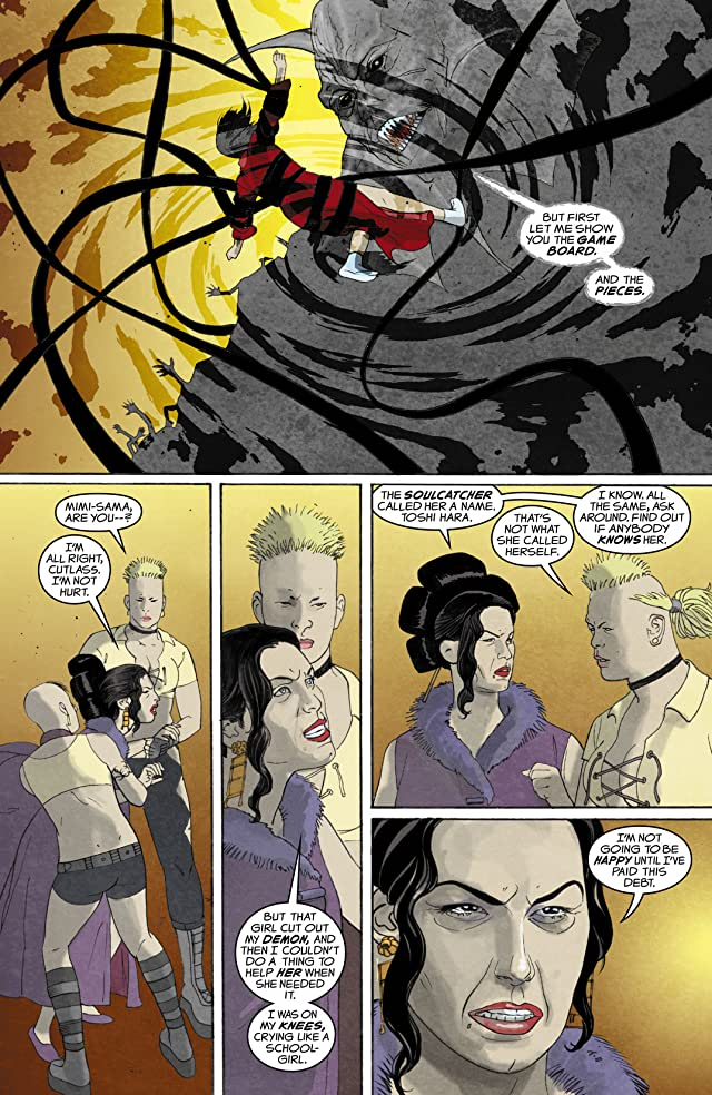 click for super-sized previews of Crossing Midnight #9