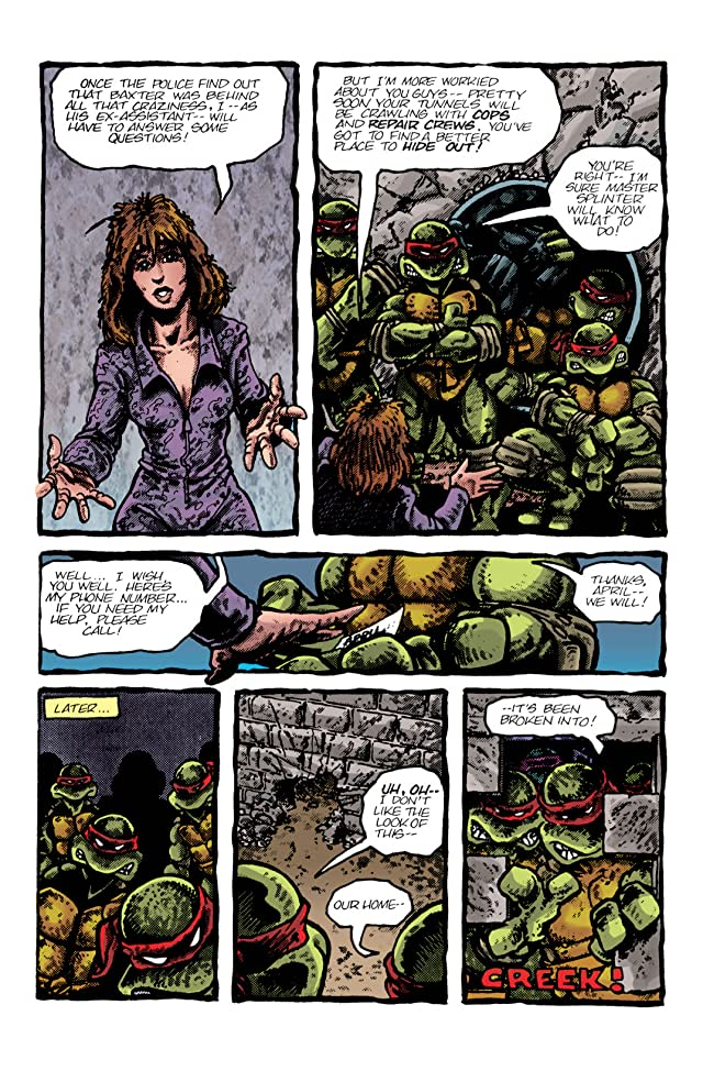 click for super-sized previews of Teenage Mutant Ninja Turtles: Color Classics #3