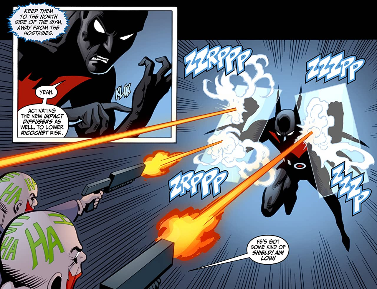 Batman Beyond (2012-2013) #9