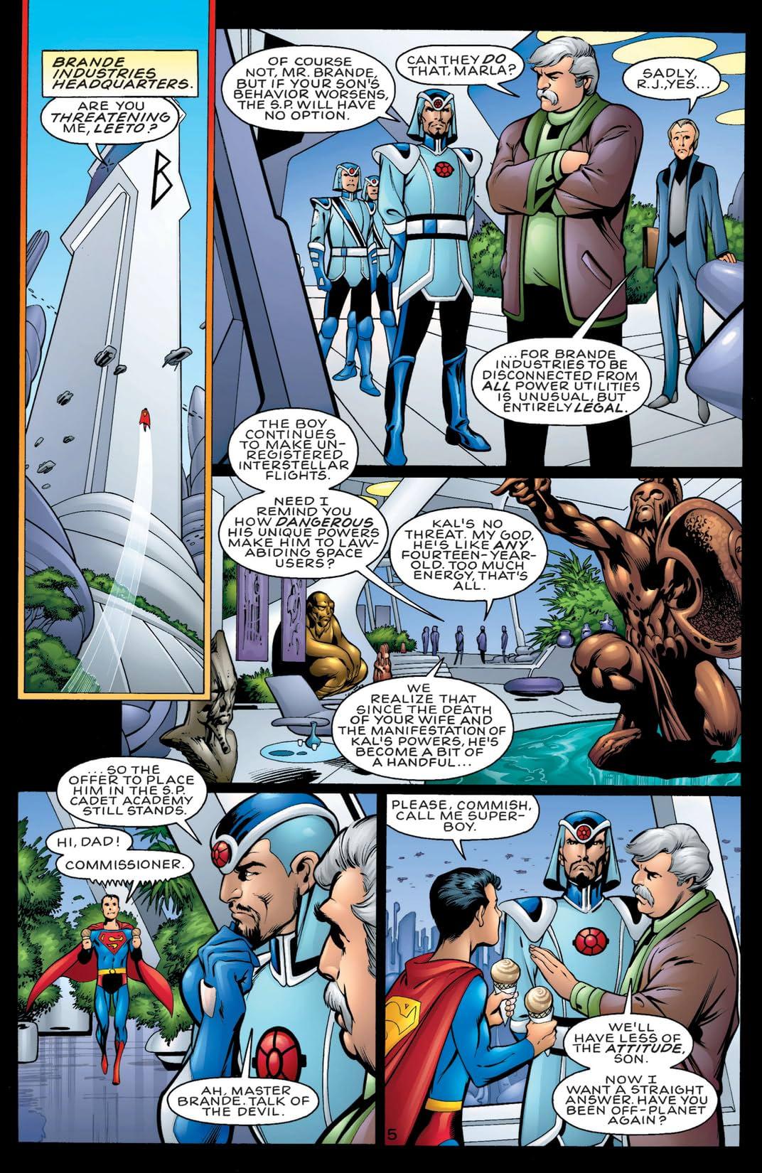 DC Comics Presents: Superboy's Legion #1
