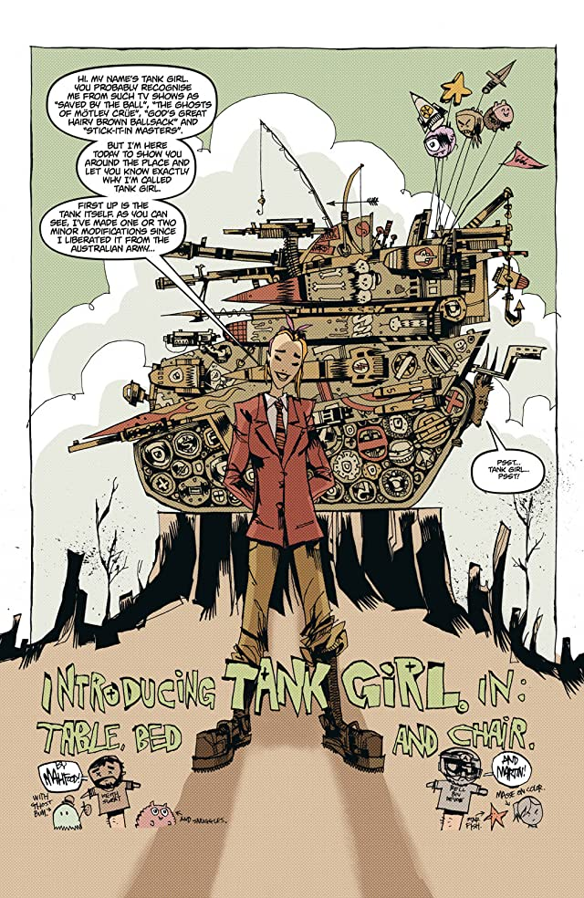 click for super-sized previews of Everybody Loves Tank Girl #1