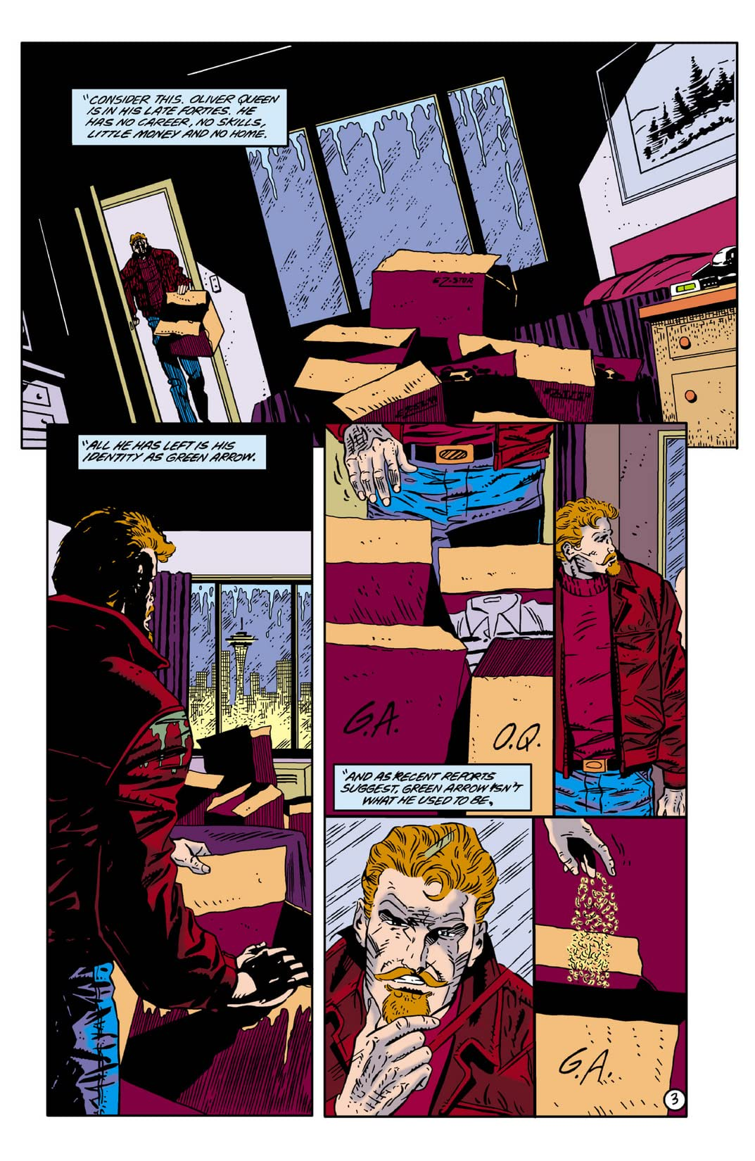 Green Arrow (1988-1998) #0