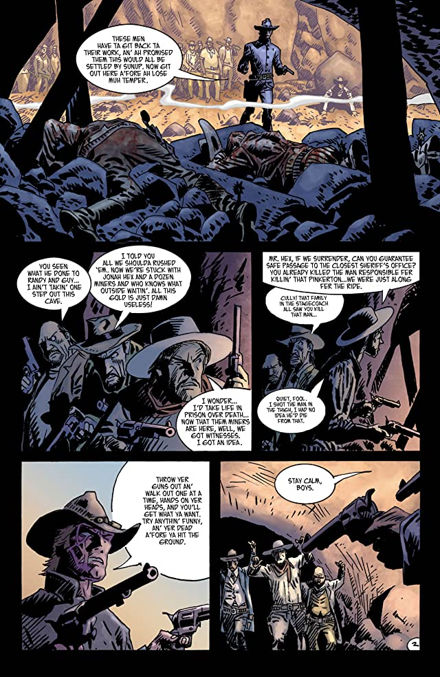 click for super-sized previews of Jonah Hex (2006-2011) #37