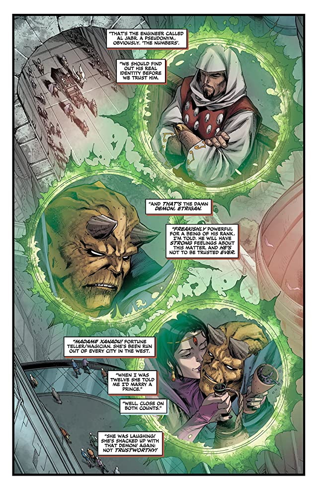 click for super-sized previews of Demon Knights (2011-2013) #9