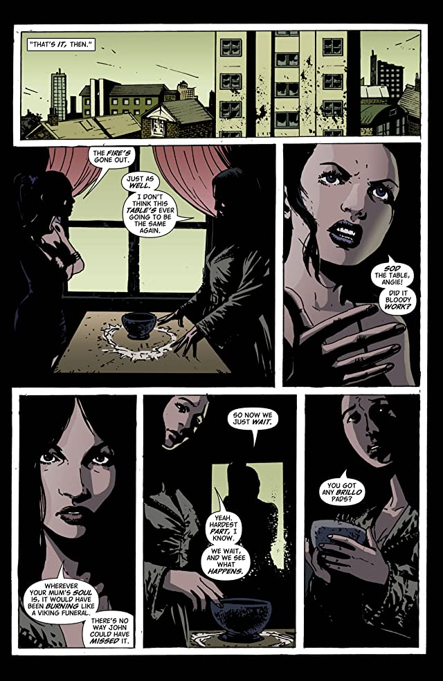 click for super-sized previews of Hellblazer #211