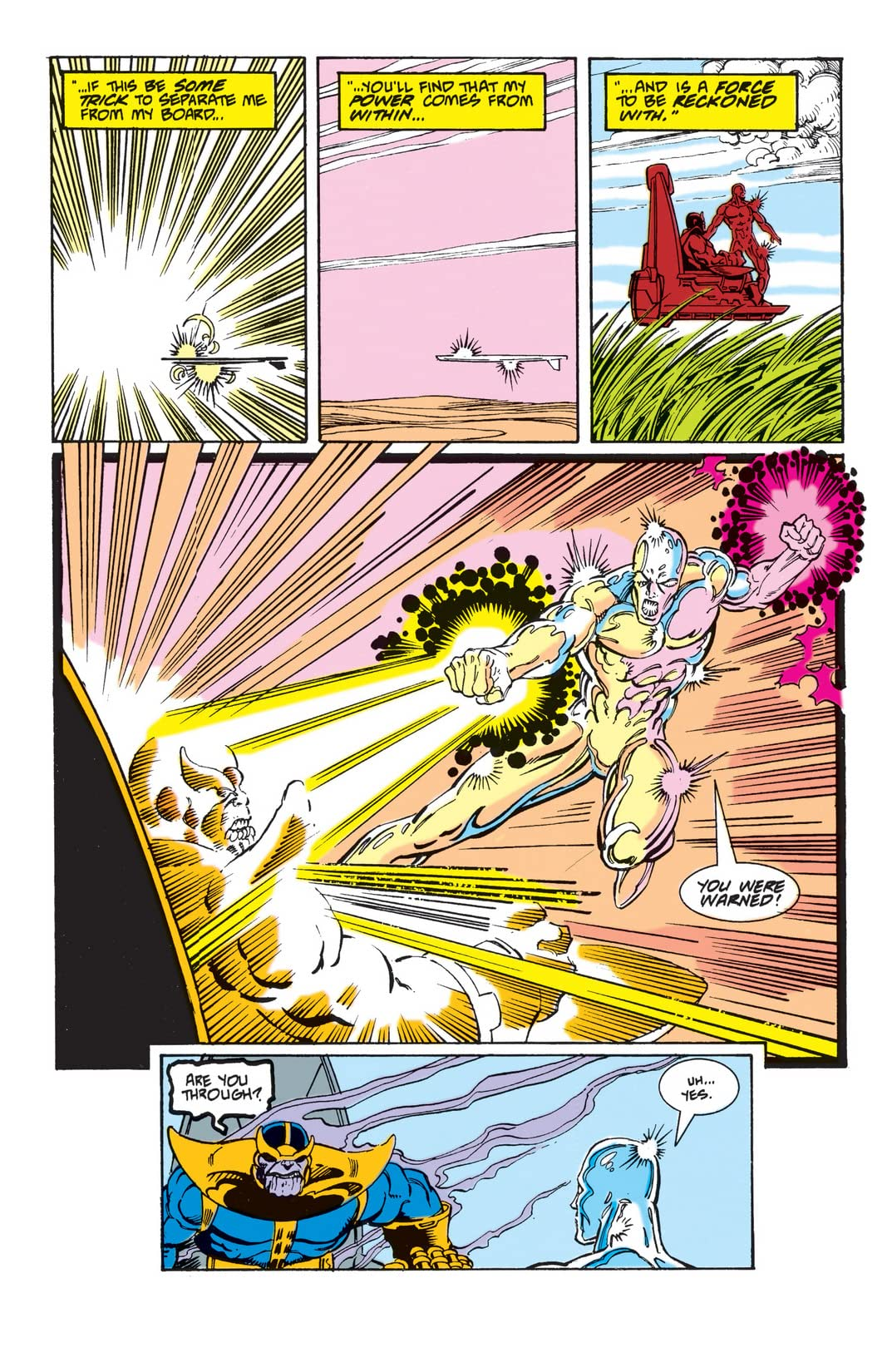 Silver Surfer (1987-1998) #35