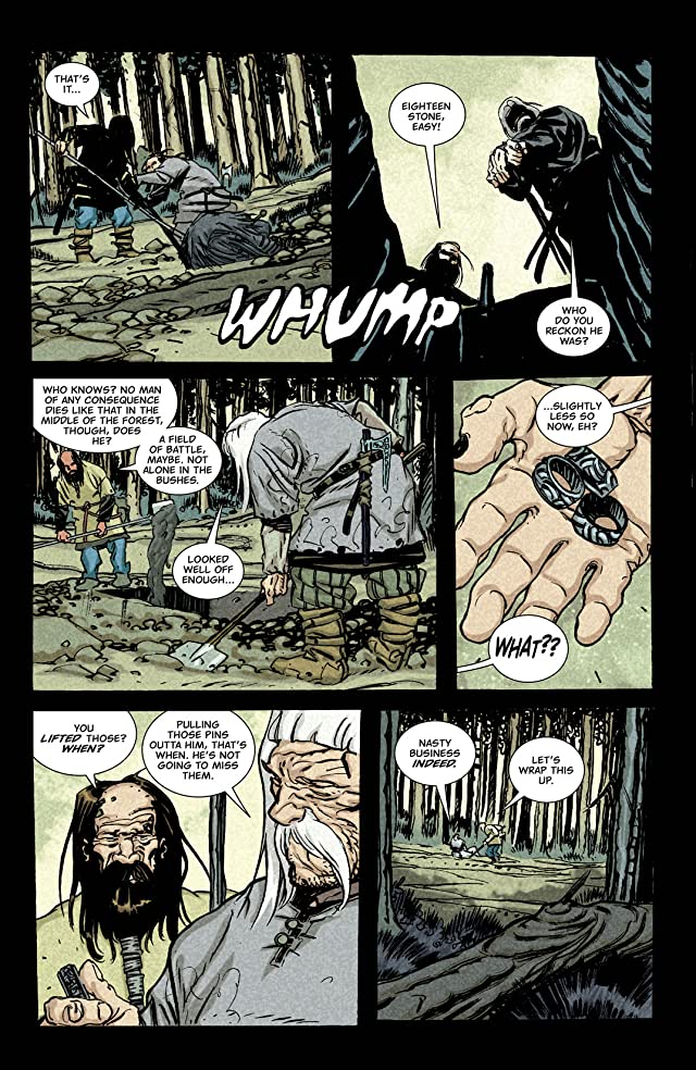 click for super-sized previews of Northlanders #33
