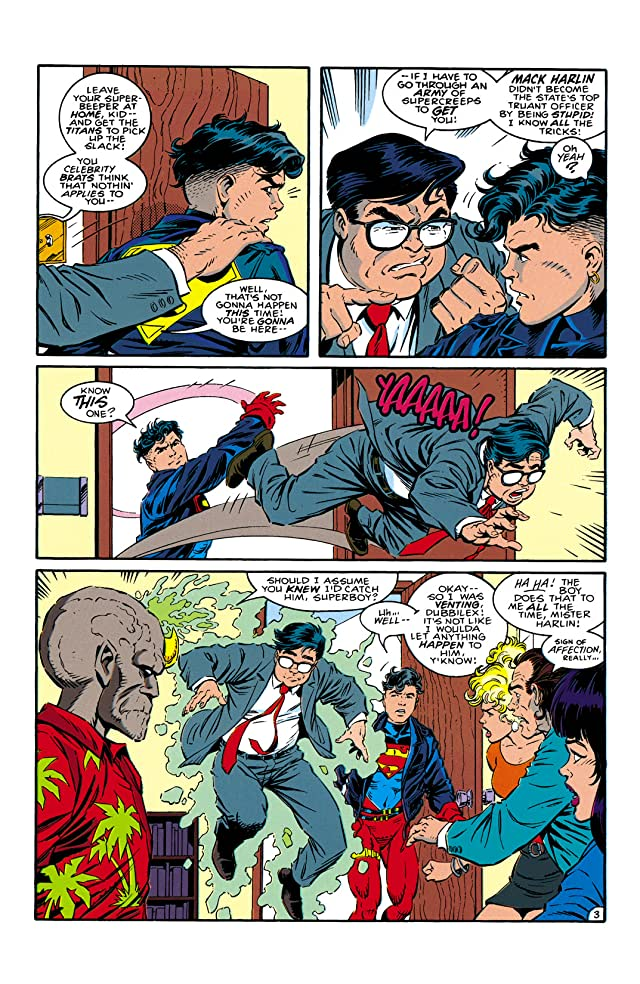 click for super-sized previews of Superboy (1994-2002) #12