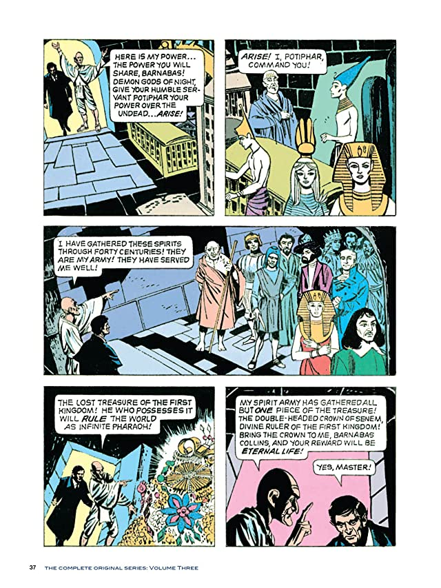 click for super-sized previews of Dark Shadows #16