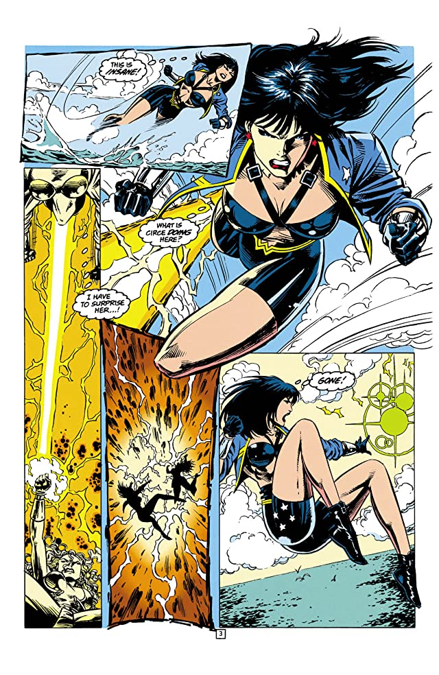 click for super-sized previews of Wonder Woman (1987-2006) #99
