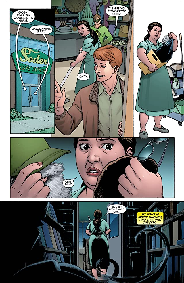 click for super-sized previews of Resurrection Man (2011-2012) #11