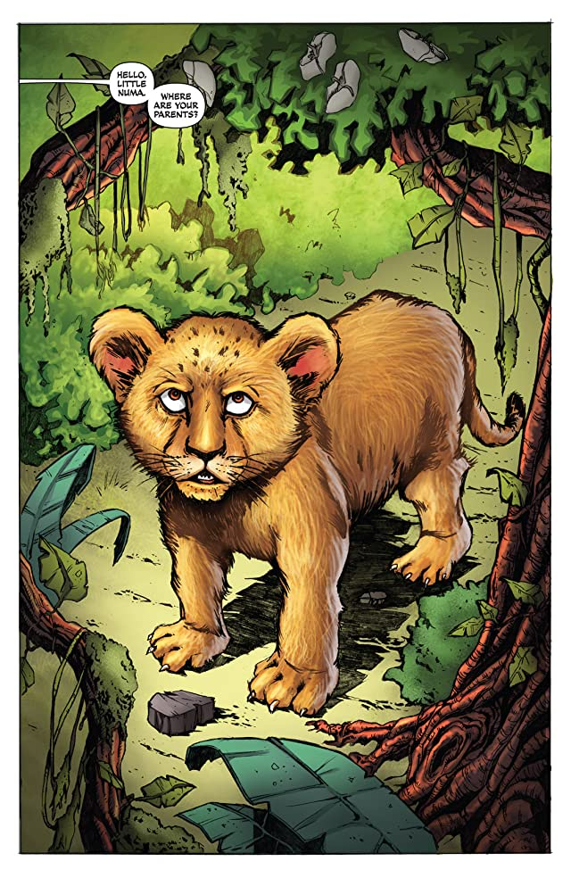 click for super-sized previews of Lord of the Jungle Annual #1
