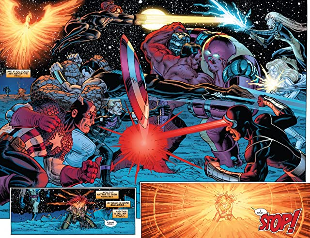 click for super-sized previews of Avengers vs. X-Men #5