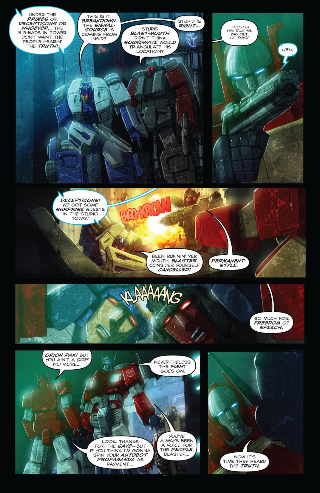 Transformers: Autocracy #11